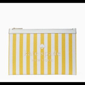 NWT Kate Spade ♠️ street tote large zip pouch